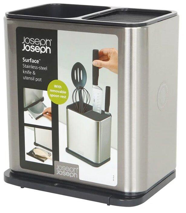 Органайзер для кухонной утвари и ножей JOSEPH JOSEPH Surface из нержавеющей стали (85114)