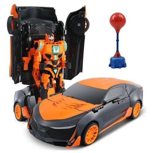 Купить Робот-трансформер Jia Qi League of Autobot Heroes Спорткар TT687/TT688 оранжевый/черный, Роботы и трансформеры