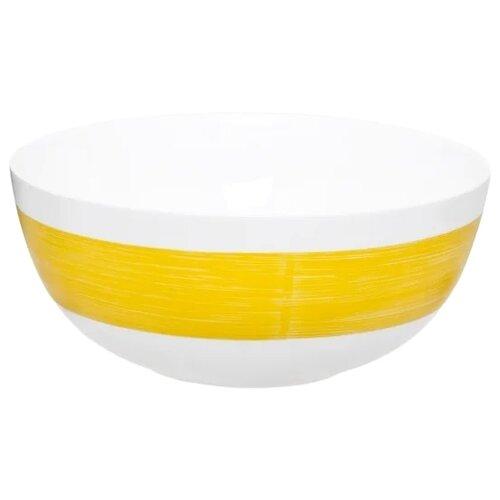 Luminarc Салатник Color Days 21 см белый/желтый