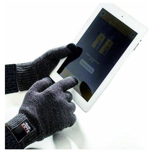 TOUCHERS Сенсорные перчатки для смартфонов (Размер M) серые