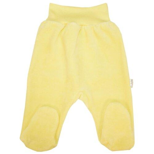 Купить Ползунки Папитто, размер 56, желтый