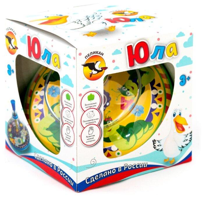 Юла Pelican Гусеница, в коробке (0201)