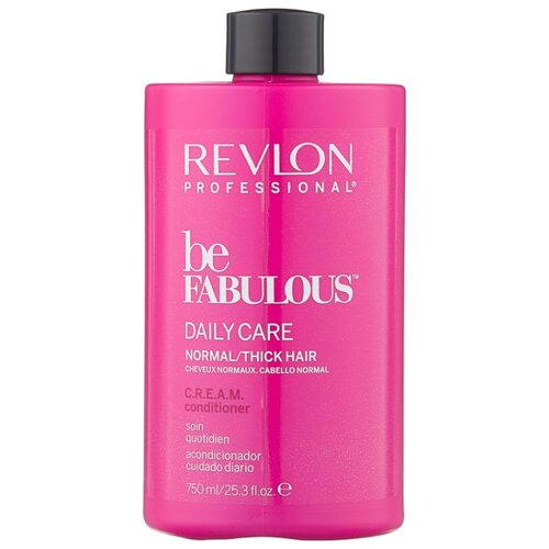 Revlon Professional кондиционер для нормальных/густых волос Be Fabulous Daily Care Normal/Thick, 750 мл revlon кондиционер для тонких волос be fabulous 750 мл