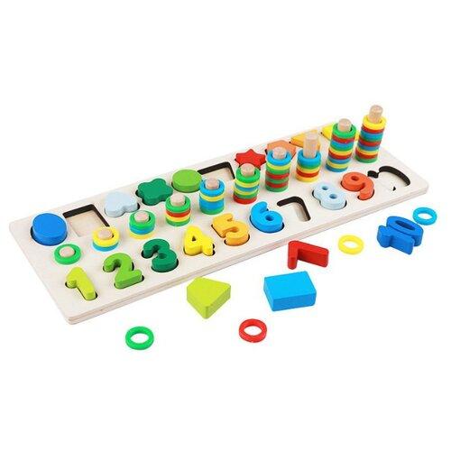 Купить Развивающая игрушка Dolemikki Доска-сортер, Развивающие игрушки