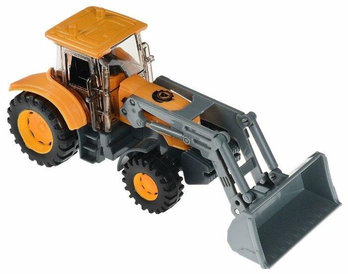 Игрушка Технопарк Экскаватор трактор U1401D-6