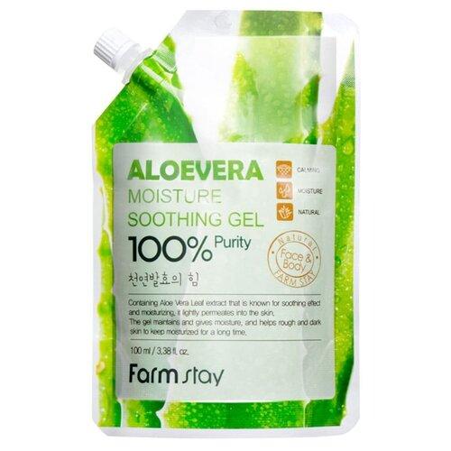 Гель для тела Farmstay универсальный смягчающий с экстрактом алоэ Aloe Vera Moisture Soothing Gel, 100 мл