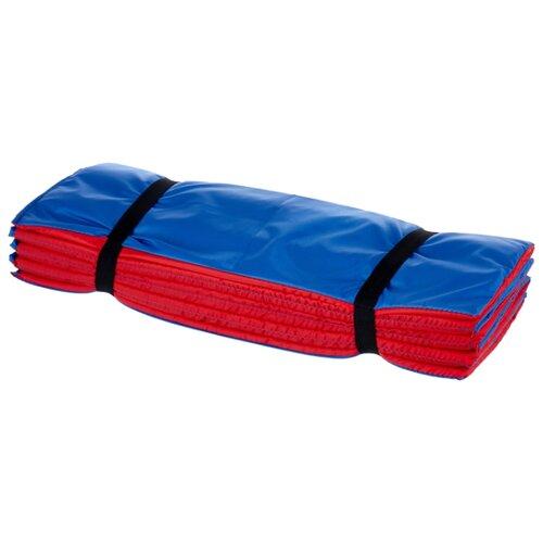 Коврик Indigo SM-042, 180х60 см синий/красный