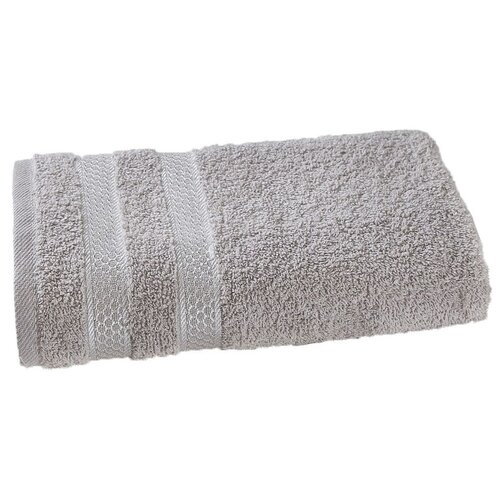KARNA Полотенце Petek банное 100х150 см серый полотенца karna полотенце dora цвет кремовый 50х90 см