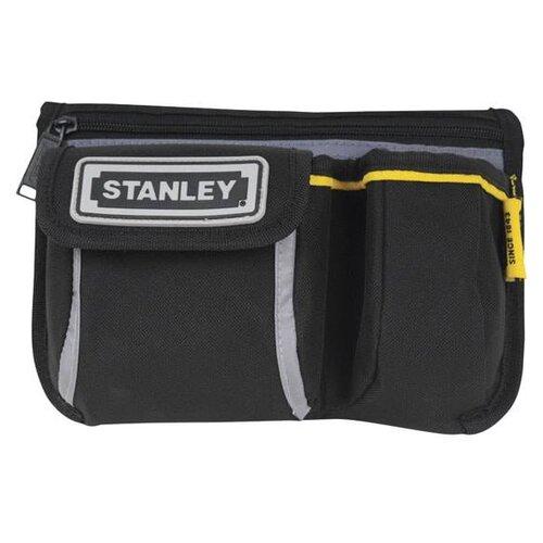 Сумка поясная STANLEY, текстиль, черный сумка поясная kite время и стекло vis19 2562 текстиль