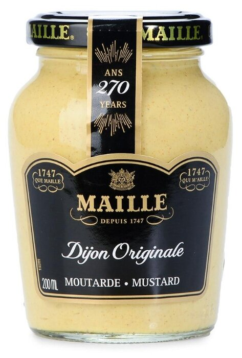 Горчица дижонская Maille 200 гр