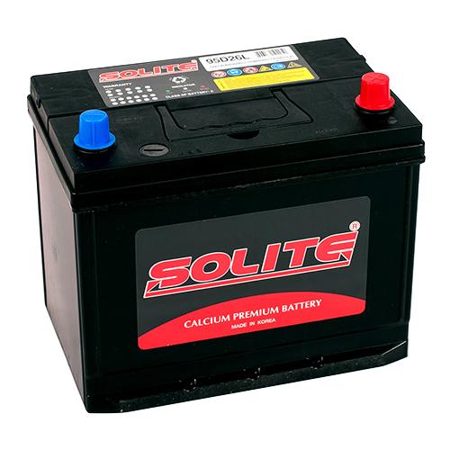 Автомобильный аккумулятор Solite 95D26L ВН