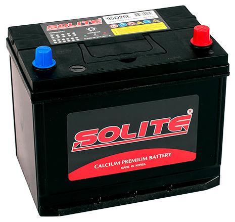 Купить Автомобильный аккумулятор Solite 95D26L ВН по низкой цене с доставкой из Яндекс.Маркета (бывший Беру)