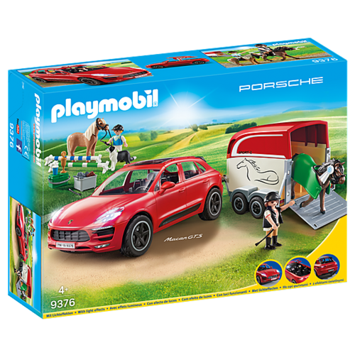 Набор с элементами конструктора Playmobil City Action 9376 Porsche Macan GTS