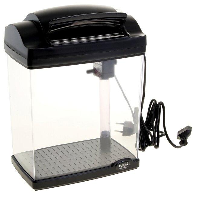 Аквариумный набор 4.8 л (освещение, фильтр) HAILEA HL-FC200E