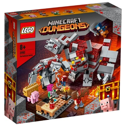 Купить Конструктор LEGO Minecraft 21163 Битва за красную пыль, Конструкторы
