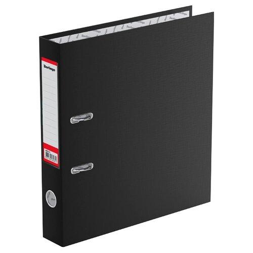 Berlingo Папка-регистратор с карманом на корешке Standard А4, бумвинил, 50 мм черный berlingo папка регистратор с карманом на корешке standard а4 бумвинил 70 мм красный