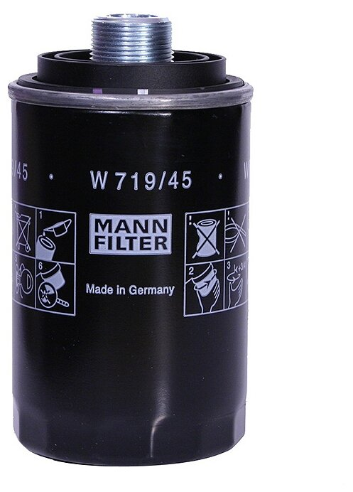 Масляный фильтр MANNFILTER W719/45
