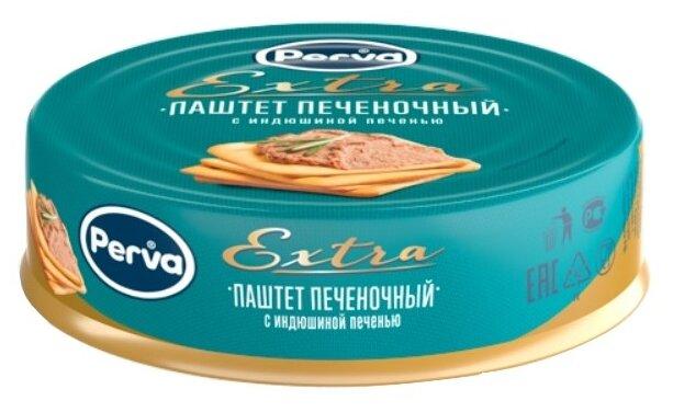 Паштет Perva Extra с индюшиной печенью 90 г