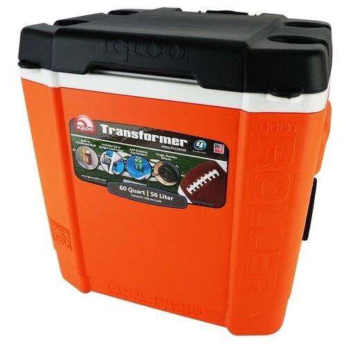 Термоэлектрический автохолодильник Igloo Transformer 60 Roller orange