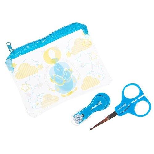 Купить Крошка Я Маникюрный набор Для малыша 3893563 голубой, Маникюрные принадлежности