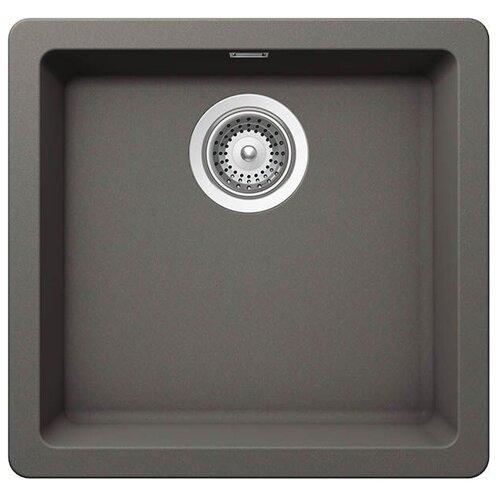 Фото - Врезная кухонная мойка 45 см Schock Soho N-100S серебристый камень врезная кухонная мойка 45 см schock soho n 100s серебристый камень
