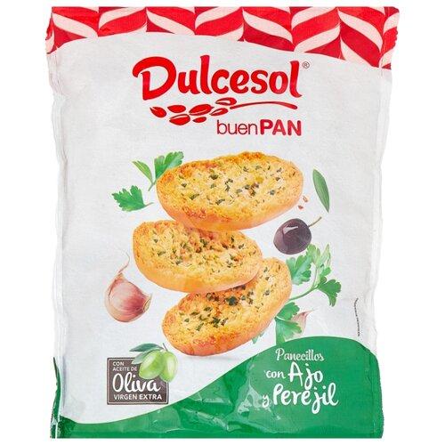 Хлебцы пшеничные Dulcesol с оливковым маслом, петрушкой и чесноком 160 г