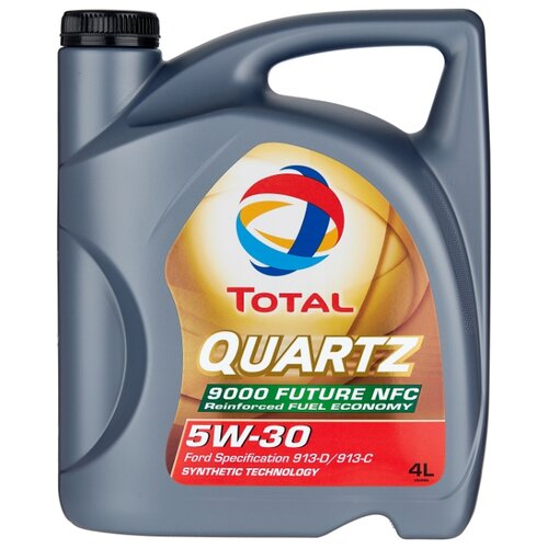 Фото - Моторное масло TOTAL Quartz 9000 Future NFC 5W-30 4 л моторное масло total quartz 9000 future gf 5 0w 20 1 л