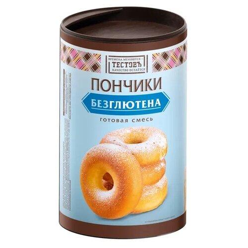 ТЕСТОВЪ Смесь для выпечки Пончики безглютена, 0.4 кг