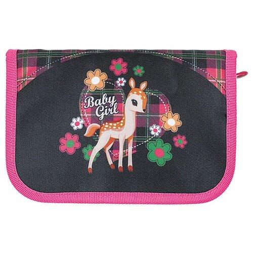 Mag Taller Пенал Fawn 2019 черный/розовый mag taller рюкзак zoom flowers разноцветный