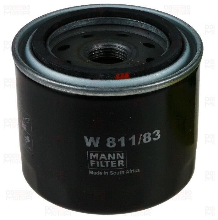 Масляный фильтр MANNFILTER W811/83