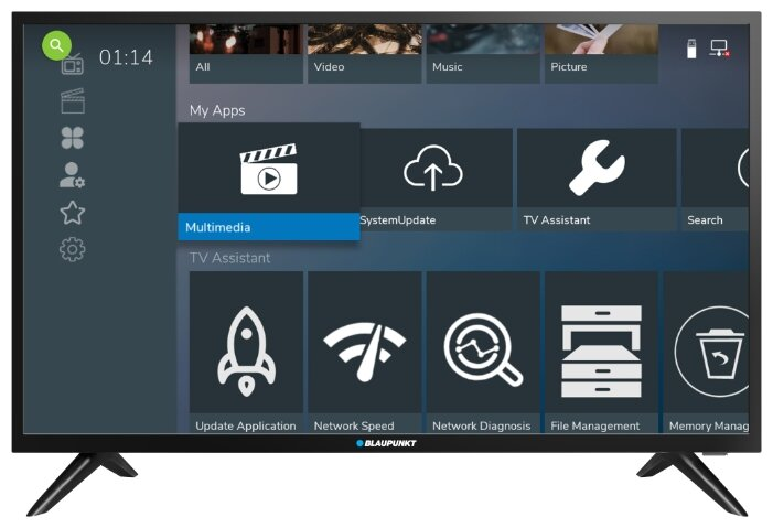 Телевизор Blaupunkt 32WE966 31.5