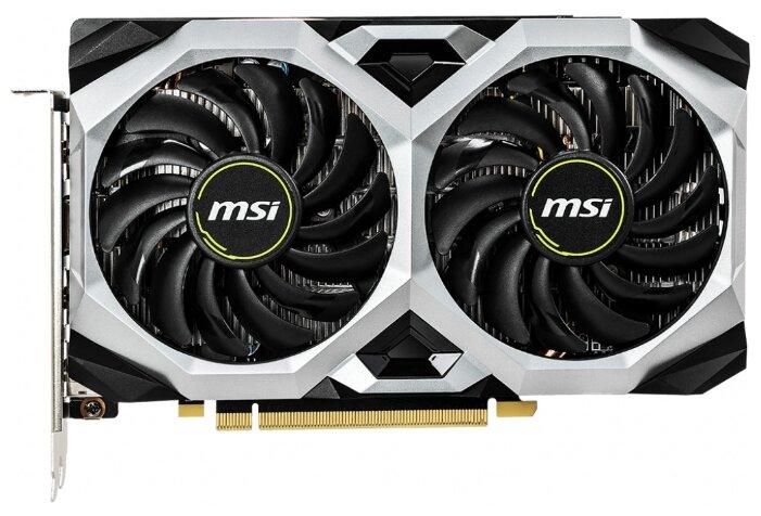 Видеокарта MSI GeForce GTX 1660 1830MHz PCI-E 3.0 6144MB 8000MHz 192 bit 3xDisplayPort HDMI HDCP VENTUS XS OC