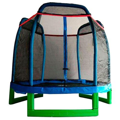 Каркасный батут DFC Jump Kids 7FT 210х210 см синий