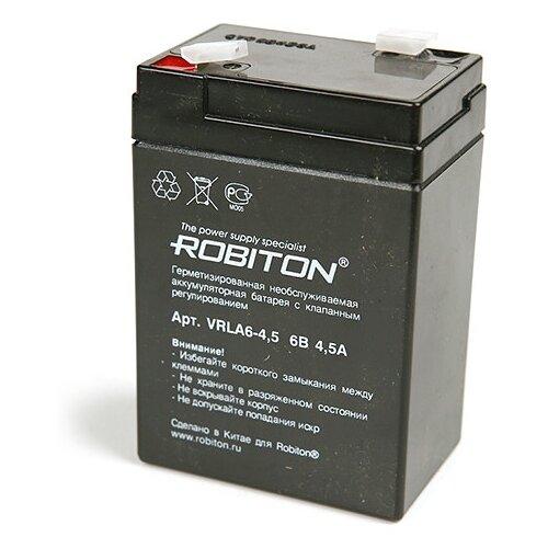 цена на Аккумуляторная батарея ROBITON VRLA 6-4.5 4.5 А·ч