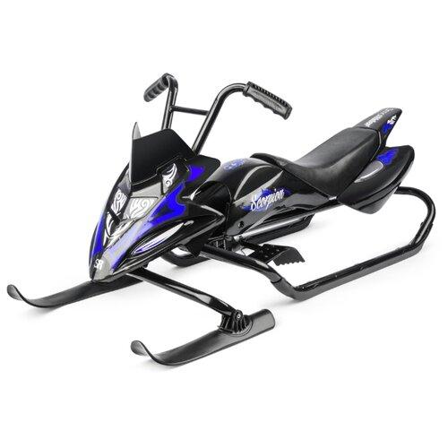Купить Снегокат Small Rider Scorpion черный / синий, Снегокаты