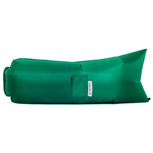 Надувной диван Биван Классический (180х80) зелёный