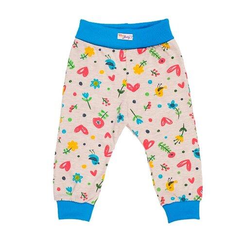 Купить Брюки Viva Baby М6021 размер 74, синий, Брюки и шорты