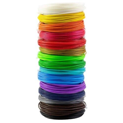 PLA пруток НИТ 1.75 мм 15 цветов 0.45 кг