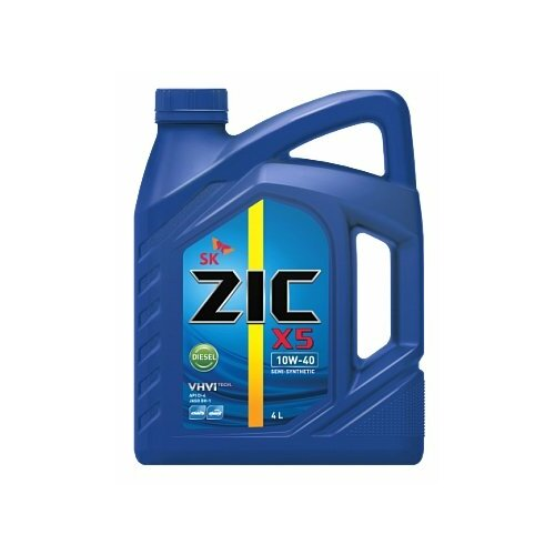 Моторное масло ZIC X5 DIESEL 10W-40 4 л