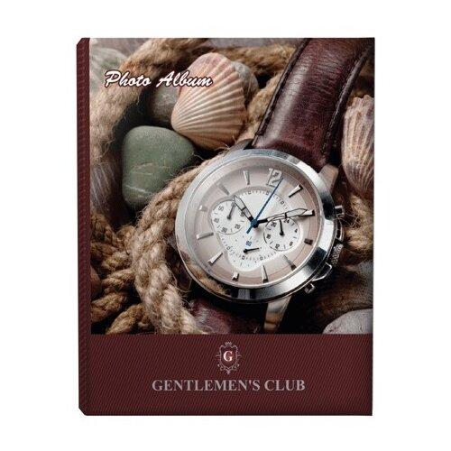 Фотоальбом BRAUBERG Часы (390667), 200 фото, для формата 10 х 15, коричневый