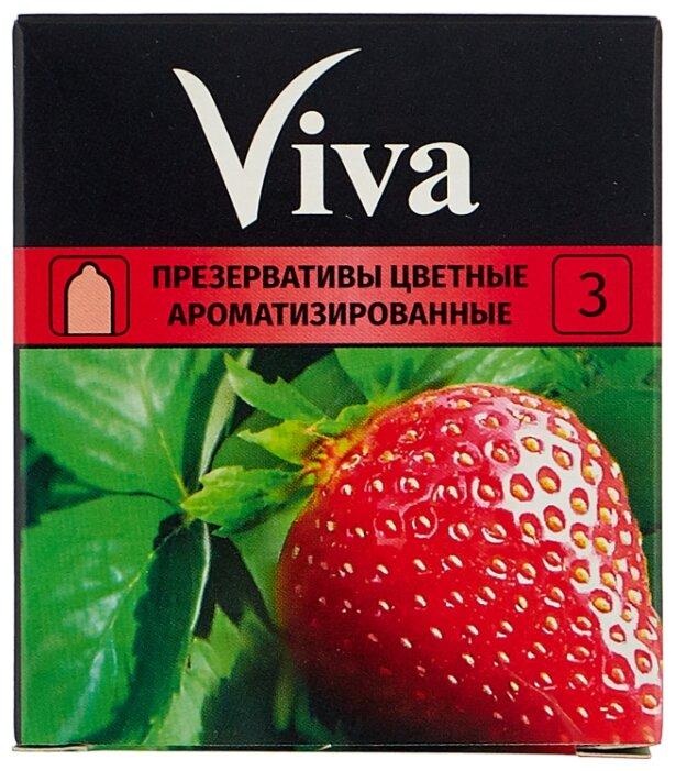 Презервативы Viva Цветные Ароматизированные