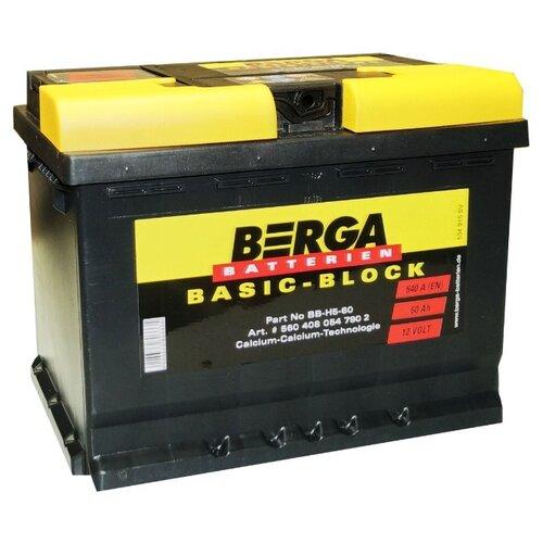 Автомобильный аккумулятор Berga BB-H5-60