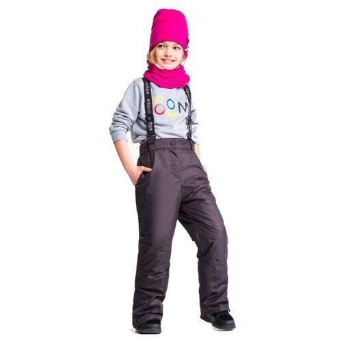 Купить Полукомбинезон BOOM! by Orby 90563_BOG размер 86, черный, Полукомбинезоны и брюки