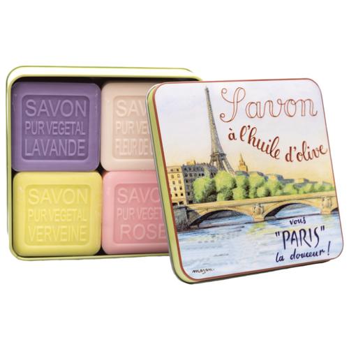 Купить Набор кускового мыла La Savonnerie de Nyons La Seine, 100 г, 4 шт.