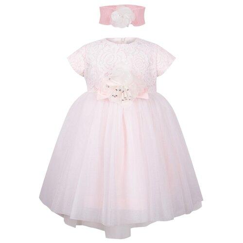 Платье Marlu размер 62-68, розовый