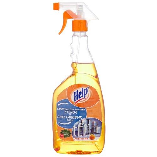 Спрей Help Апельсин для мытья стекол (триггер), 750 мл недорого