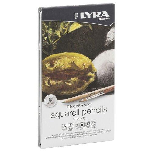 Купить Lyra Набор цветных карандашей Rembrandt Polycolor, 12 цветов (L2001120), Цветные карандаши