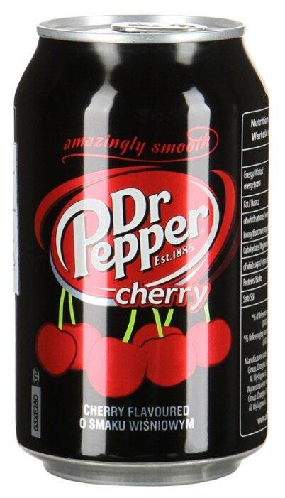 Газированный напиток Dr. Pepper Cherry