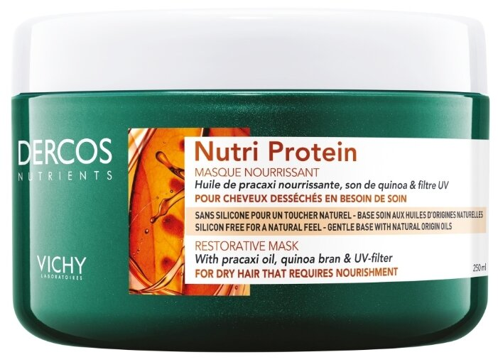 Vichy DERCOS Nutri Protein Восстанавливающая маска для волос