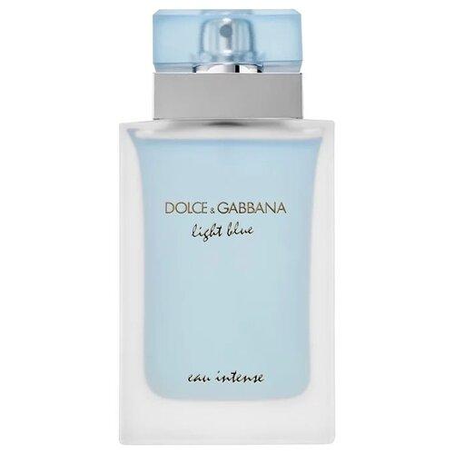 Парфюмерная вода DOLCE & GABBANA Light Blue pour Femme Eau Intense, 100 мл light blue edt 25 мл dolce